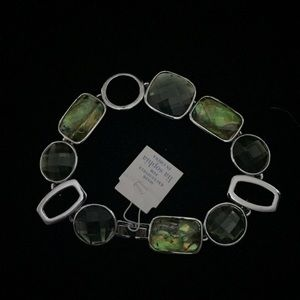 Lia Sophia abalone bracelet